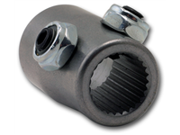"SPLINED COUPLER 9/16-26 SPLINE, 3/4"" BORE"