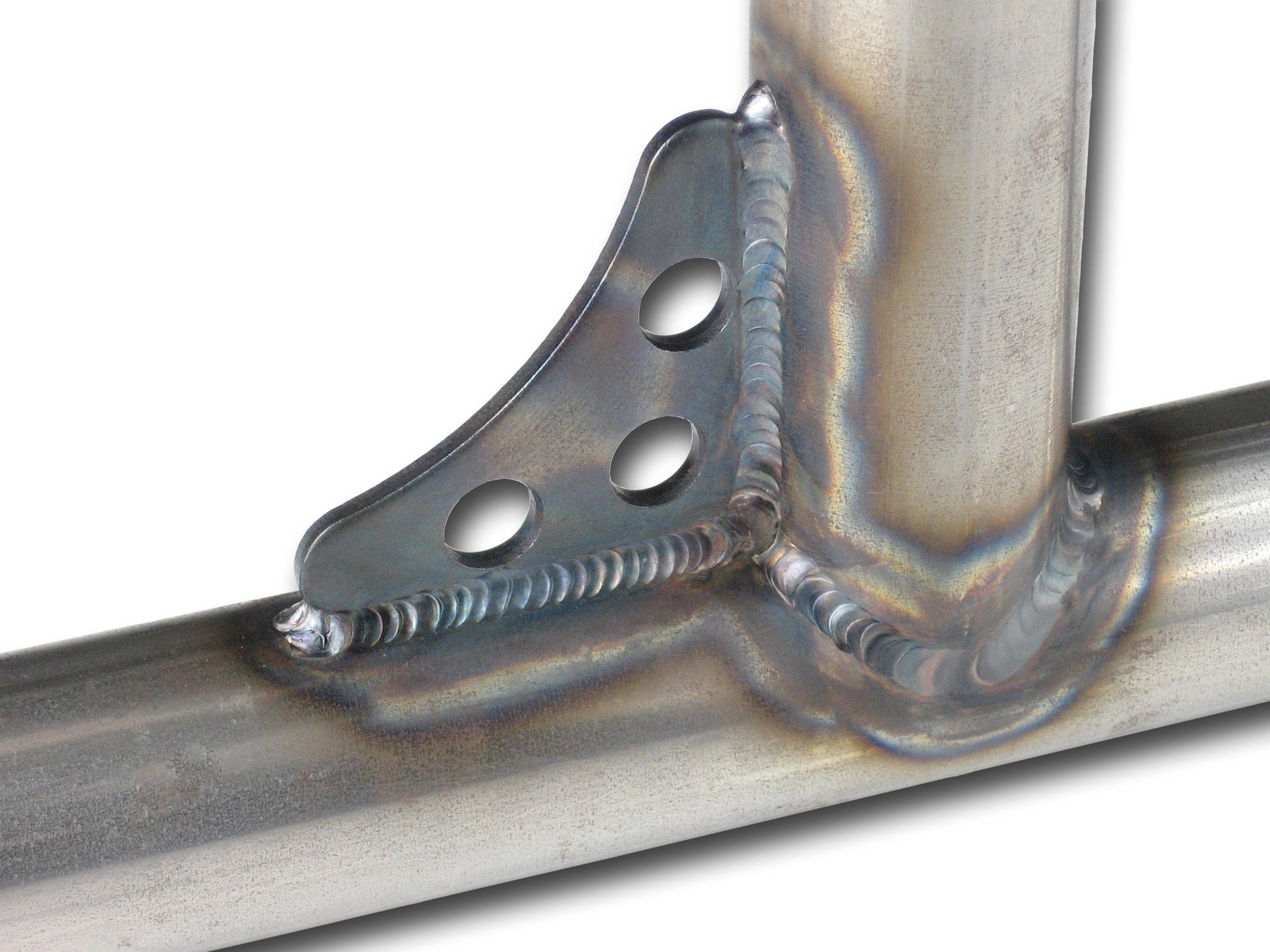 4  Mild Steel Gussets